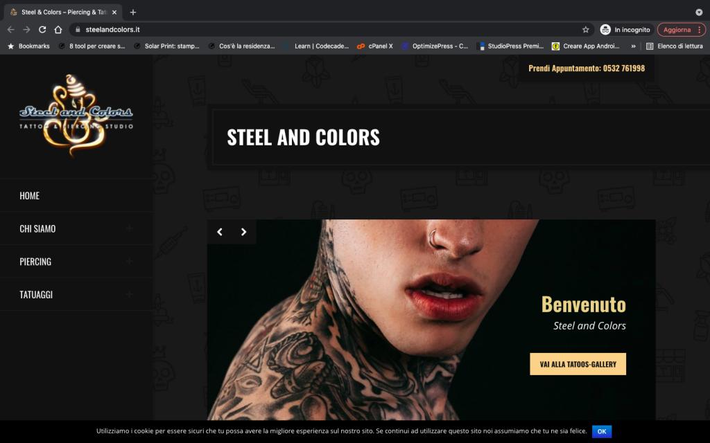 sviluppo sito web: Idea Builder software house e advertising